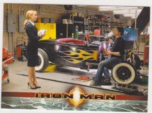 2008 Iron Man Movie Trading Card #8