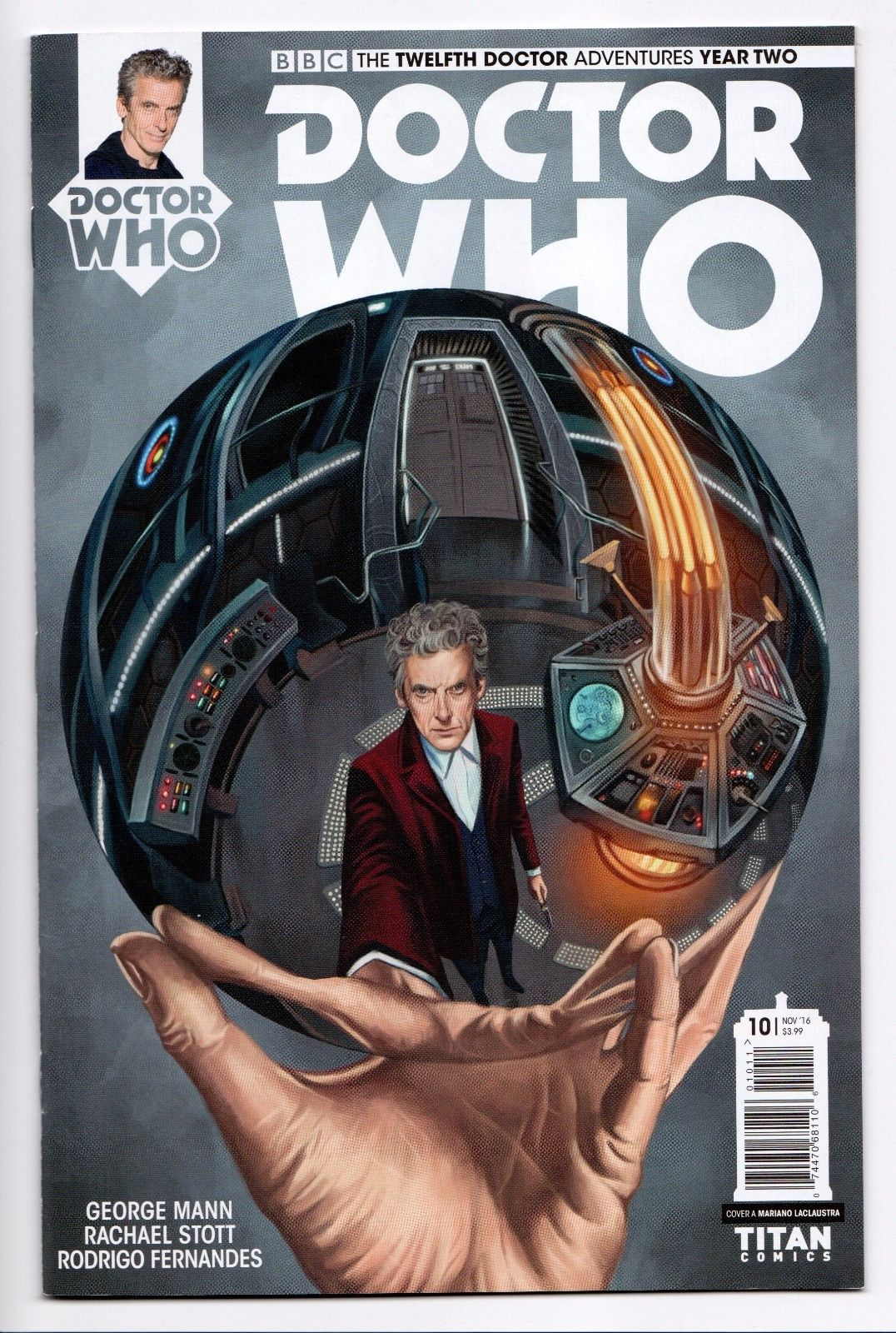 Doctor Who Titan 2015 NEW UNREAD The Ninth Doctor Comic Book #2 Cover A