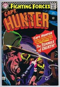 Our Fighting Forces #103 ORIGINAL Vintage 1966 DC Comics Capt Hunter