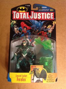 Total Justice Parallax Hal Jordan Green Lantern Figure MOC Justice League Kenner