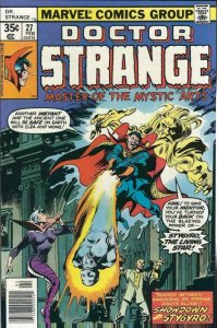 DR STRANGE #27, VF+, Tom Sutton, Ernie Chan, 1974 1978, Doctor, more in store
