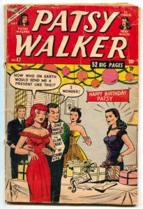 Patsy Walker #47 1953- Birthday party cover- Hedy Wolfe G/VG