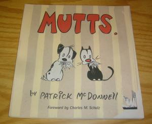 Mutts. SC VF/NM patrick mcdonnell - charles m. schulz - graphic novel A&M book
