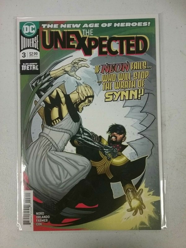 The Unexpected  #3 DC Comics  Oct 2018 NW149