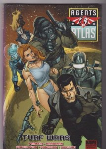 AGENTS OF ATLAS - TURF WARS Hardback Sealed MARVEL COMICS