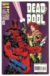 Deadpool #3 1994 High Grade comic book Marvel