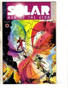 Solar Man Of The Atom # 4 NM 1st Print Valiant Comic Book Pre-Unity MK3