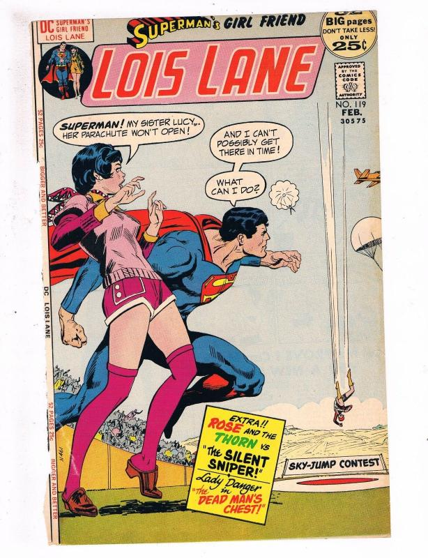 Lois Lane # 119 FRONT COVER ONLY Great For Framing DC Comic Book ...