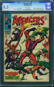 Avengers #55 (Marvel, 1968) CGC 8.5 -