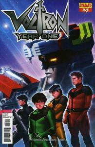 Voltron: Year One #3 FN; Dynamite | save on shipping - details inside