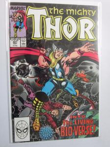 Thor (1962-1996 1st Series Journey Into Mystery) #407 - VF/NM 9.0 - 1989