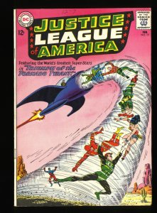 Justice League Of America #17 VG+ 4.5