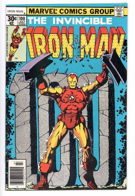 Iron Man #100 - Mandarin (1977) - VF/NM