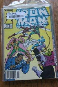 IRON MAN #224 (Marvel,1987) Condition VF