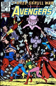 The Kree-Skrull War Starring the Avengers #2 (1983)