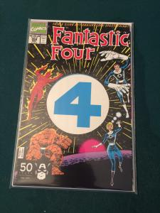Fantastic Four #358 Triple Sized 30th Edition die-cut cover Mint