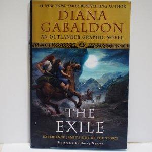 The Exile #1 (2010) Diana Gabaldon An Outlander Graphic Novel Hard Cover New