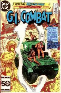 GI COMBAT 278 VF-NM July 1985 COMICS BOOK