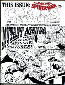 Comics Revue #96 1994-Spider-man-LeibMutant Agenda-Modesty Blaise-Tarzan-VF