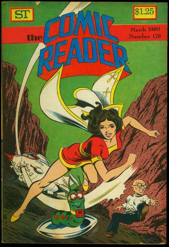 Comic Reader #178 1980- Fanzine- Mary Marvel & Mr Mind cover G