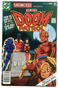 Showcase #94 1st appearance of NEW DOOM PATROL VF/NM DC