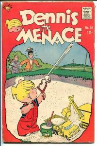 DENNIS THE MENACE #35-HANK KETCHUM ART-GOLF COVER-1959-vg
