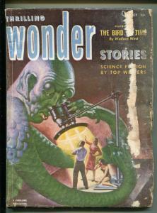 THRILLING WONDER STORIES 10/1952-SCI-FI PULP-EARLE BERGEY-JACK VANCE-fr