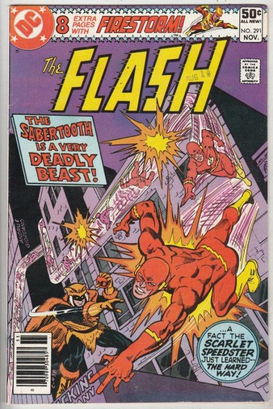 Flash, The #291 (Nov-80) NM- High-Grade Flash