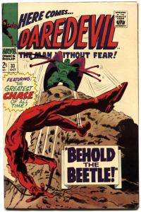 DAREDEVIL #33-1967-MARVEL SILVER-AGE-HIGH GRADE