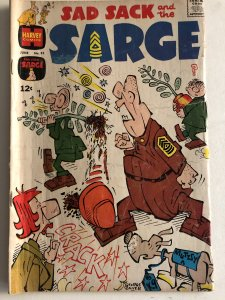 Sad Sack and the Sarge#55VG, Baker cover