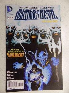 DC UNIVERSE PRESENTS BLACK LIGHTNING BLUE DEVIL # 14
