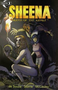 Sheena, Queen of the Jungle (Moonstone) #3A FN; Moonstone | save on shipping - d