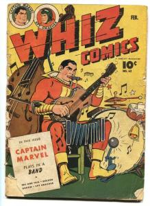 WHIZ #62 1945-FAWCETT-CAPT MARVEL-GOLDEN ARROW-IBIS-SPY SMASHER-G-