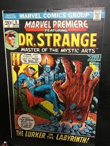 Marvel Premiere #5 (1972) 3rd Bronze-Age Doctor Strange high-grade! Oregon CERT