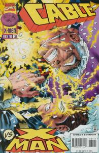 Cable #31 VF/NM; Marvel | save on shipping - details inside