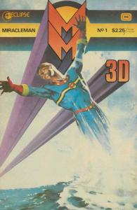 Miracleman #3D 1 FN; Eclipse | save on shipping - details inside