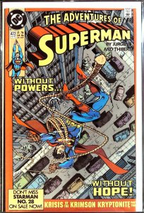 Adventures of Superman #472 (1990)