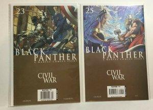 Black Panther 23 25 Nm- Near Mint- Civil War Marvel Comics