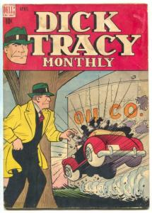 Dick Tracy #4 1948- Dell comics- Chester Gould G