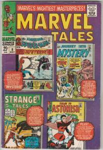 Marvel Tales #8 (May-67) FN/VF Mid-High-Grade Spider-Man, Thor, Ant-Man, Huma...