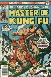 Master of Kung Fu (1974 series) #46, VF+ (Stock photo)