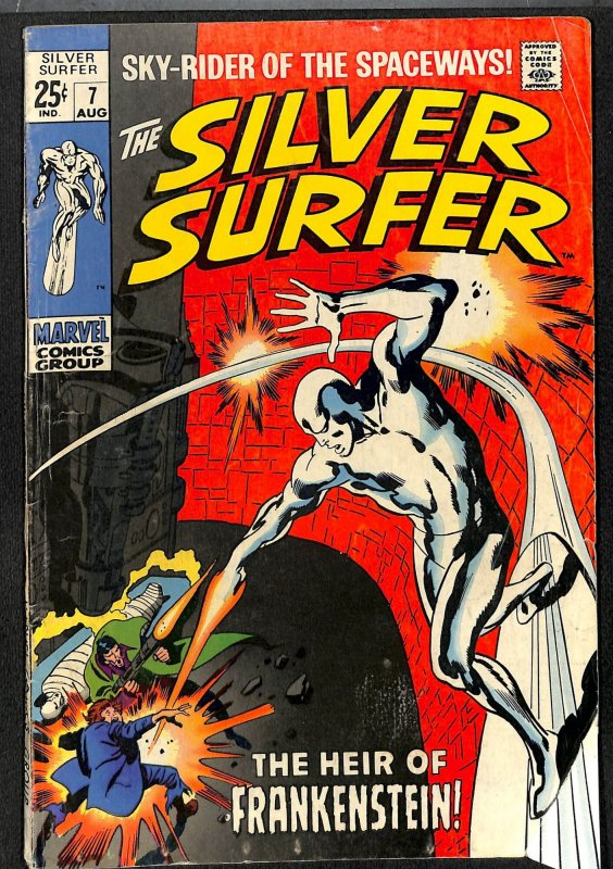 Silver Surfer #7 VG+ 4.5