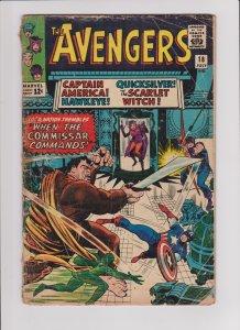 Avengers #18 (Fair)