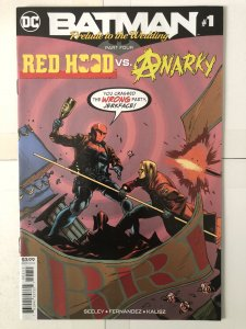 Batman: Prelude to the Wedding: Red Hood vs. Anarky #1 (2018)