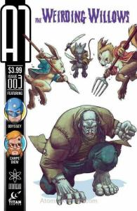 A1 (4th Series) #3A VF/NM; Titan | save on shipping - details inside