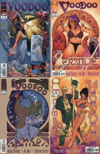 VOODOO  (1997 IMAGE) 1-4  ALAN MOORE & AL RIO