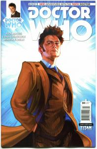 DOCTOR WHO #4 A, NM, 10th, Tardis, 2014, Titan, 1st, more DW in store, Sci-fi