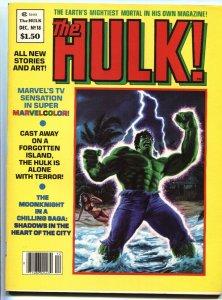 Hulk #18 1st appearance of Randall Spector Magazine Marvel VF