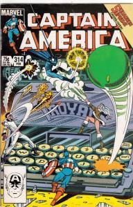 Captain America #314 (Feb-86) NM- High-Grade Captain America
