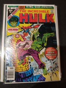 Incredible Hulk King-Size Annual 6 Marvel 11/77 1st app of Her Ayesha Paragon